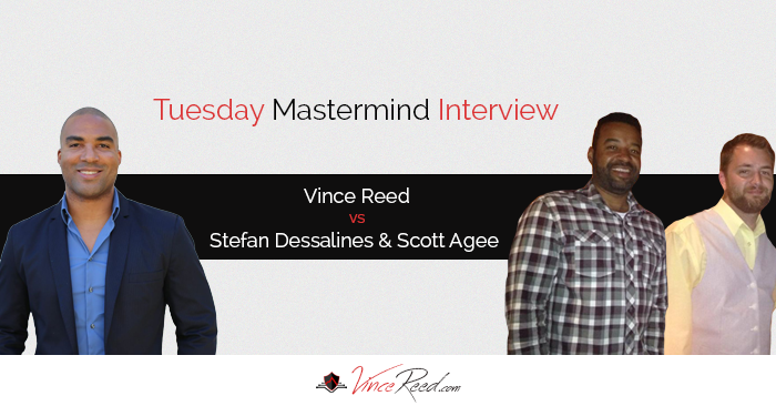 Mastermind – Vince Reed Vs Stefan Desalines And Scott Agee