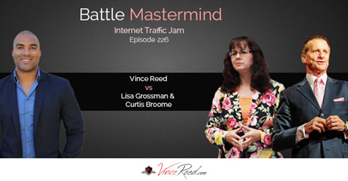 Battle Mastermind – Lisa Grossman & Curtis Broome Vs Vince Reed