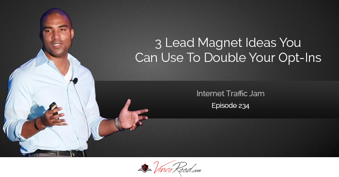 3 Lead Magnet Ideas You Can Use To Double Your Opt In Subscribers For Your Home Business – Episode 234